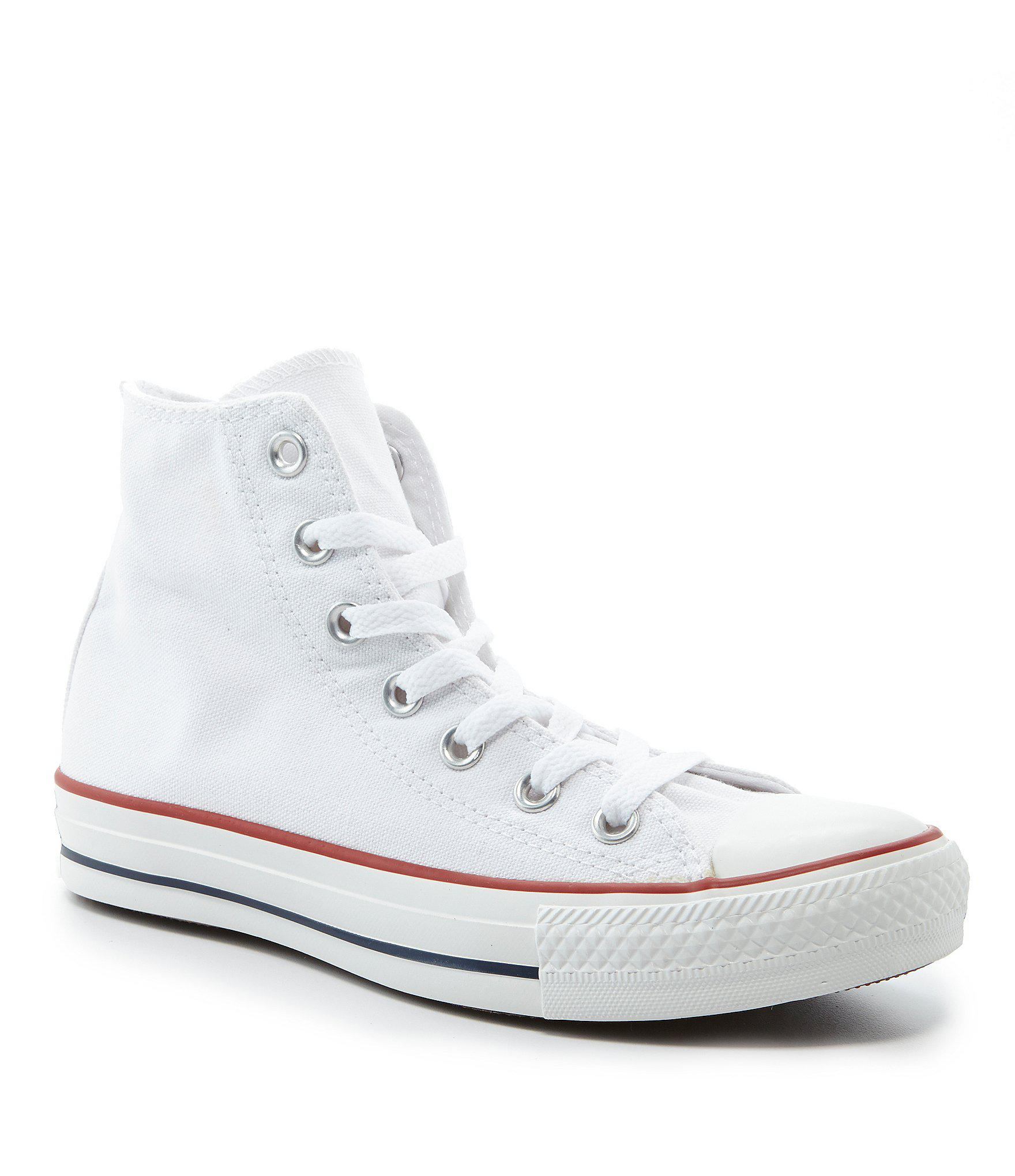 60b4e7c15865a1 Lyst - Converse Chuck Taylor® All-star® Core Hi-top Sneakers in White