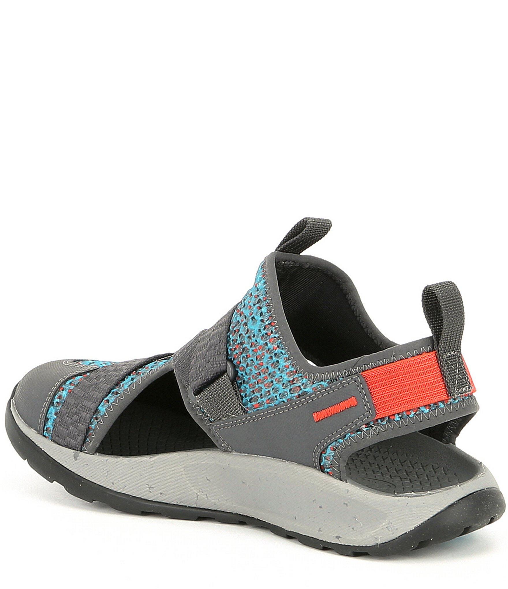 dfef85eb3bd1 Chaco - Blue Odyssey Closed Toe Sandals - Lyst. View fullscreen