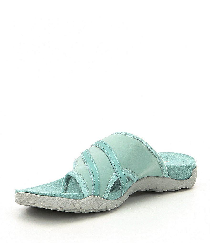 Terran Ari Wrap Toe Ring Thong Sandals KdAgMwGV