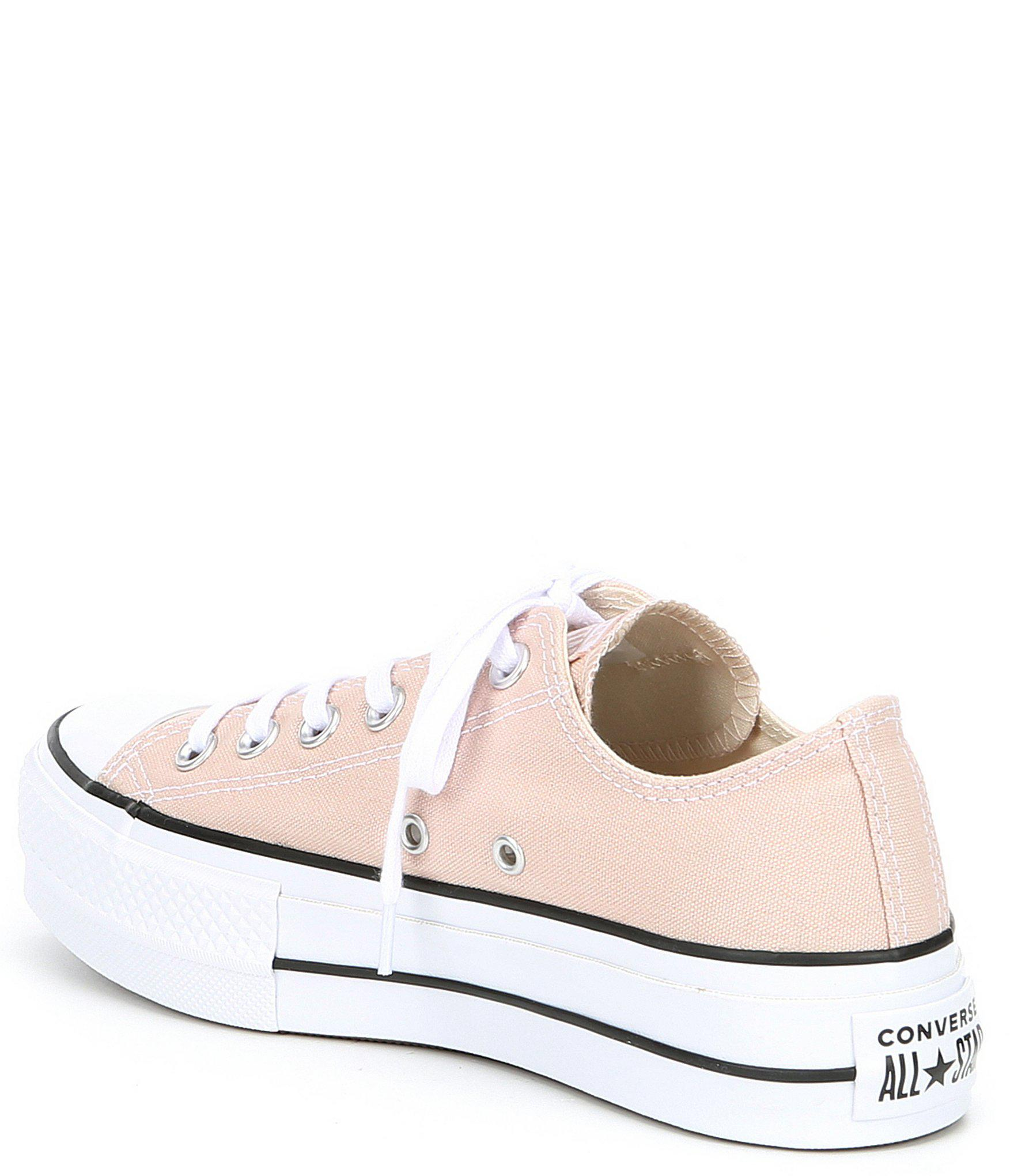 6ef1a6c1b4e15d Converse - White Women s Chuck Taylor All Star Color Lift Sneakers - Lyst.  View fullscreen