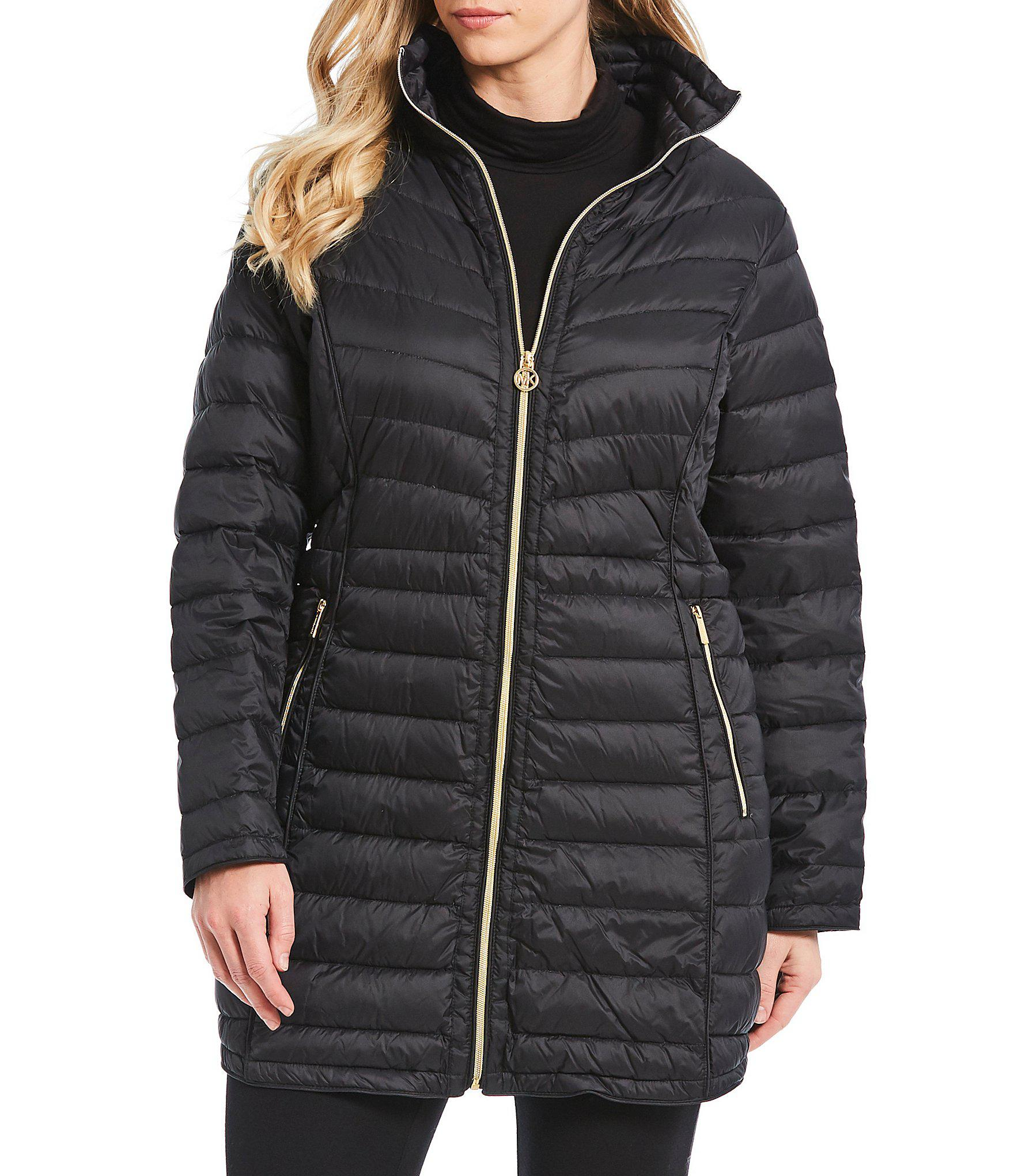 87dc51e523d Lyst - MICHAEL Michael Kors Plus Size Puffer Down Packable ...