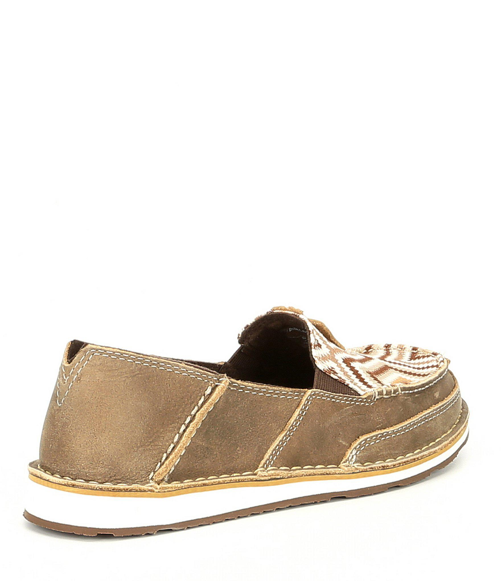 e9377839168 Ariat - Brown Cruiser Leather Slip Ons - Lyst. View fullscreen