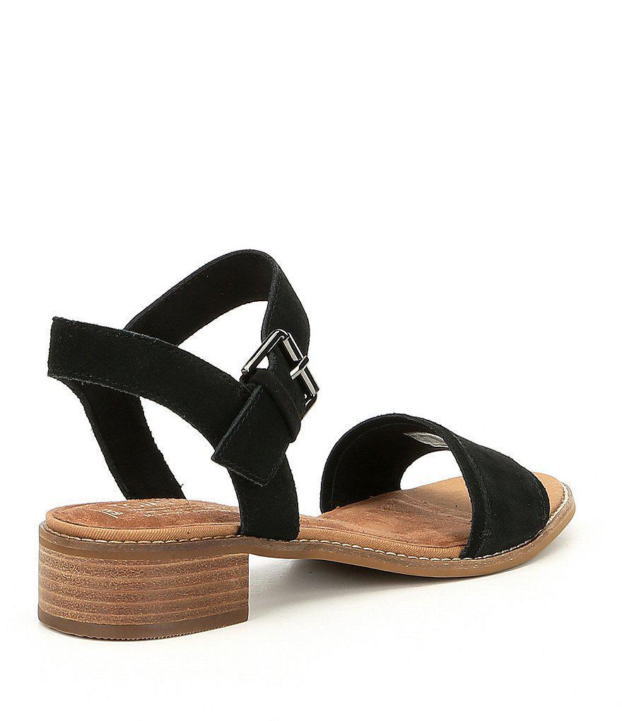 Camilia Suede Block Heel Sandals G8RKdNST5