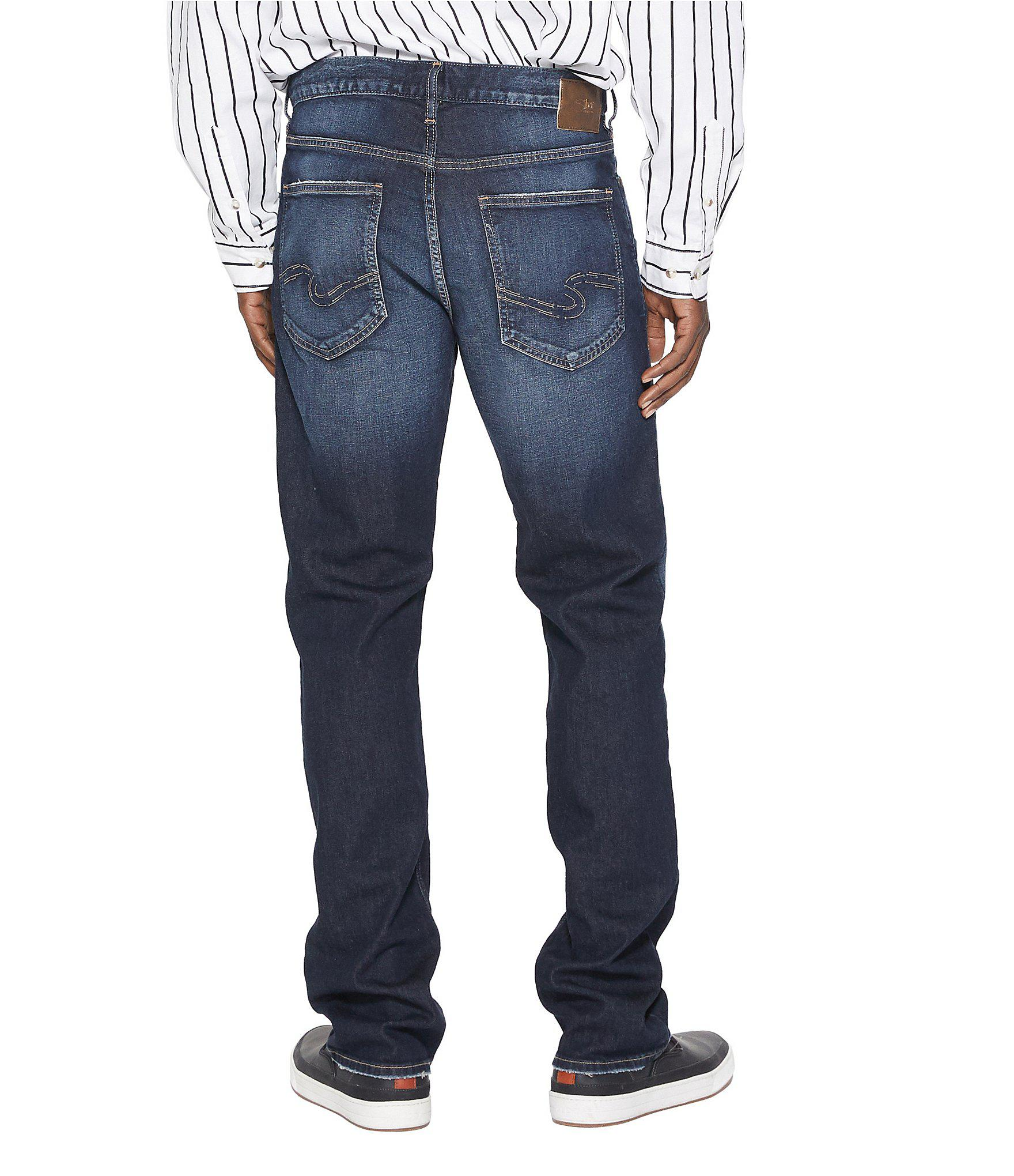 9849b16e928 Lyst - Silver Jeans Co. Grayson Easy-fit Straight Leg Jeans in Blue ...