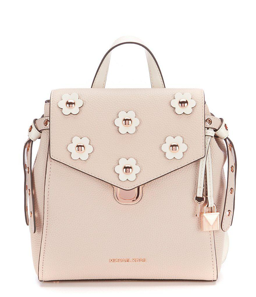 562d9f953611cf ... where can i buy lyst michael michael kors bristol small backpack in  pink 616e4 ef5c7