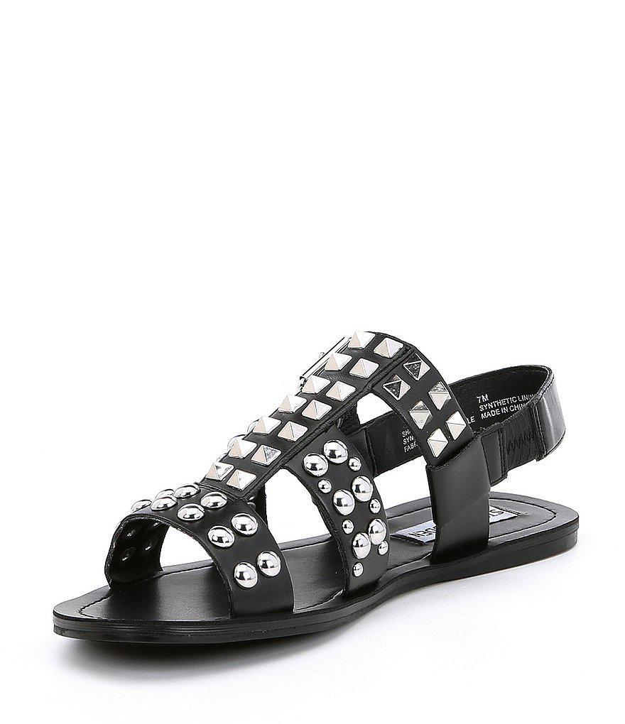 Sharon Leather Studded Gladiator Sandals 0x40mg