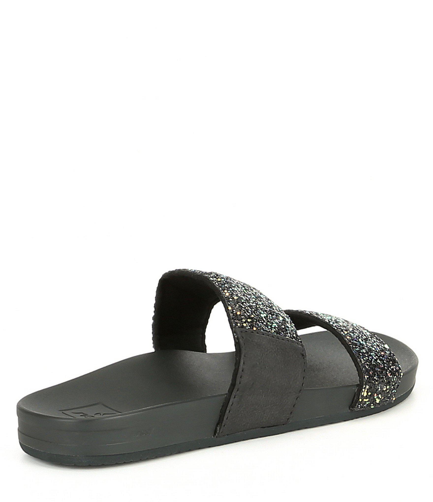 47da87dc84d8 Reef - Black Cushion Bounce Vista Sandals - Lyst. View fullscreen