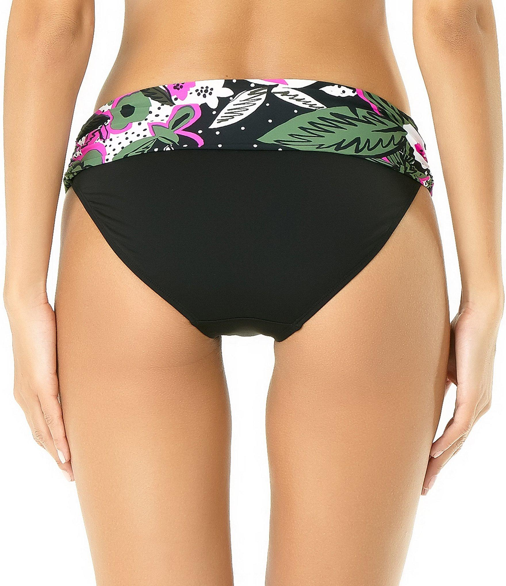 54052a5a3f0 Anne Cole - Multicolor Bolo Babe Foldover Bikini Swimsuit Bottom - Lyst.  View fullscreen