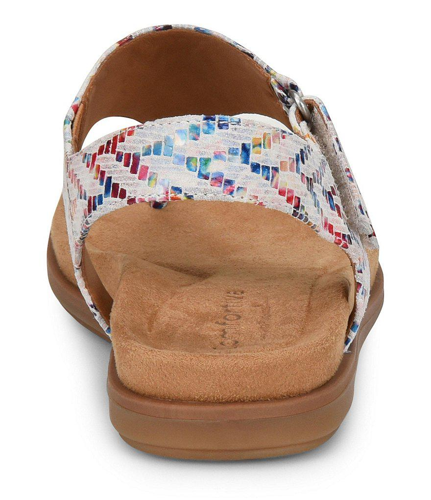 Calina Foil Snake Print Nubuck Thong Sandals skq57OqPST