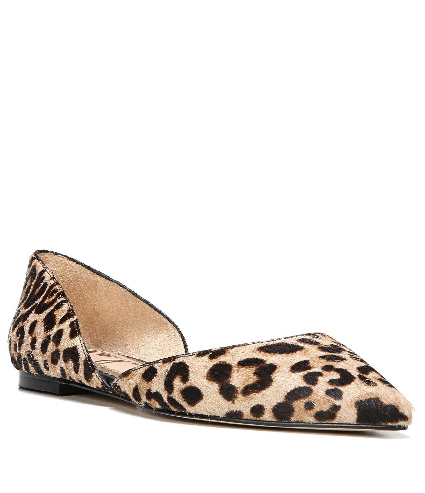 3a5465d54db8c Lyst - Sam Edelman Rodney Leopard Print Calf Hair Flats - Save 1%