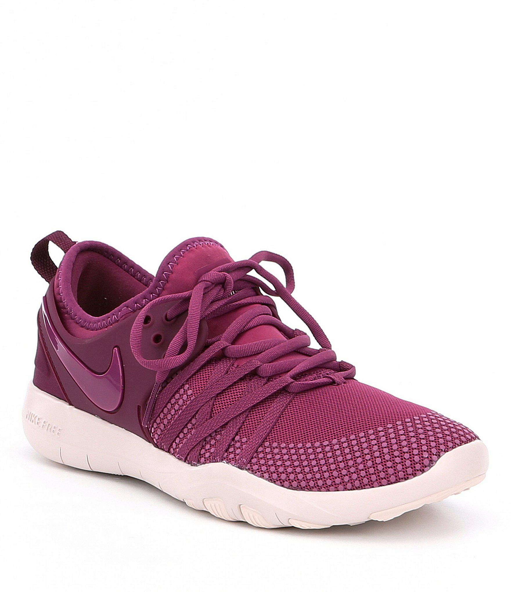 3b2752db134c7 ... Lyst Nike Womens Free Tr 7 Training Shoes Gallery Source · Nike Free  TR7 Tea Berry Siltstone Red Bordeaux ...