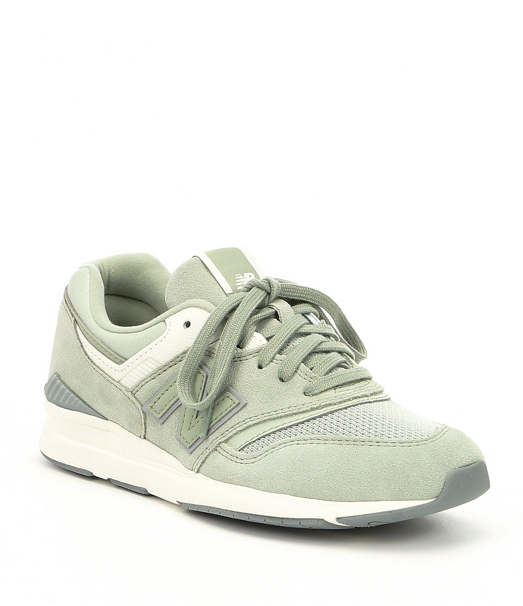 pretty nice b49e6 2b15d Lyst - New Balance Women s 697 Suede And Mesh Lifestyle Sneakers in ...