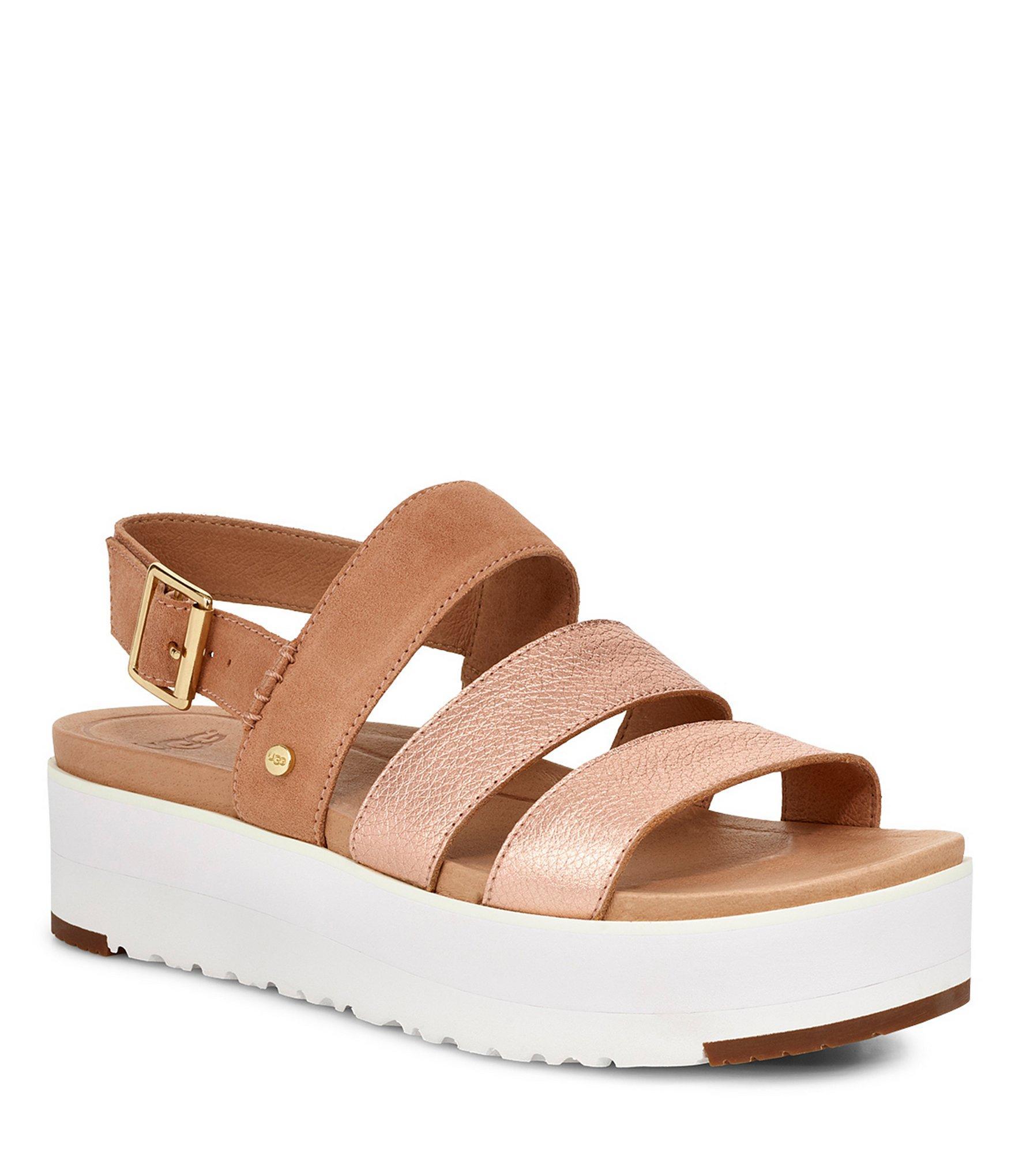 379ecc9ba773 UGG. Women s Braelynn Metallic Sandals