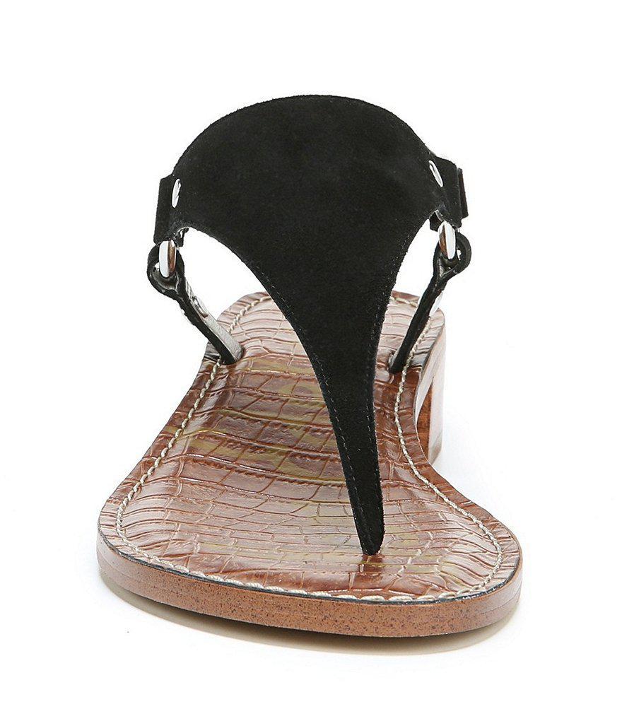 Jude Suede T-Strap Block Heel Dress Sandals jaFDT76ZoP