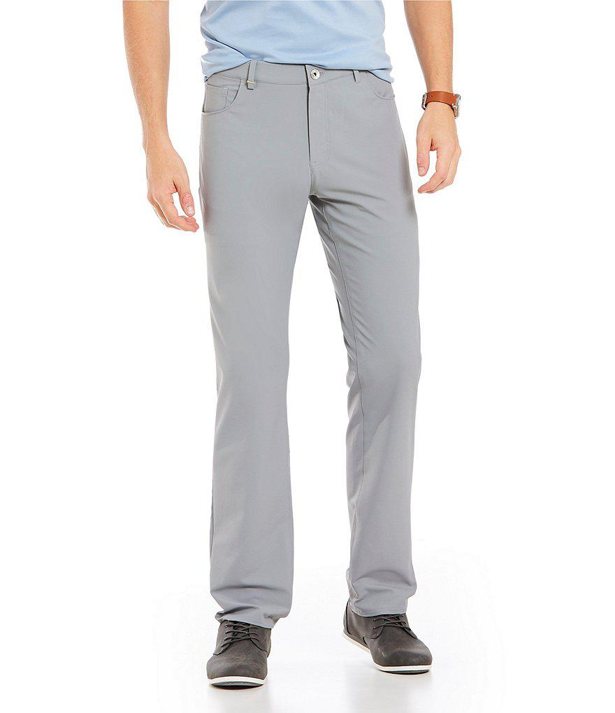 1dc23e169 Calvin Klein Slim-fit Infinite Tech Solid 5-pocket Stretch Pants in ...