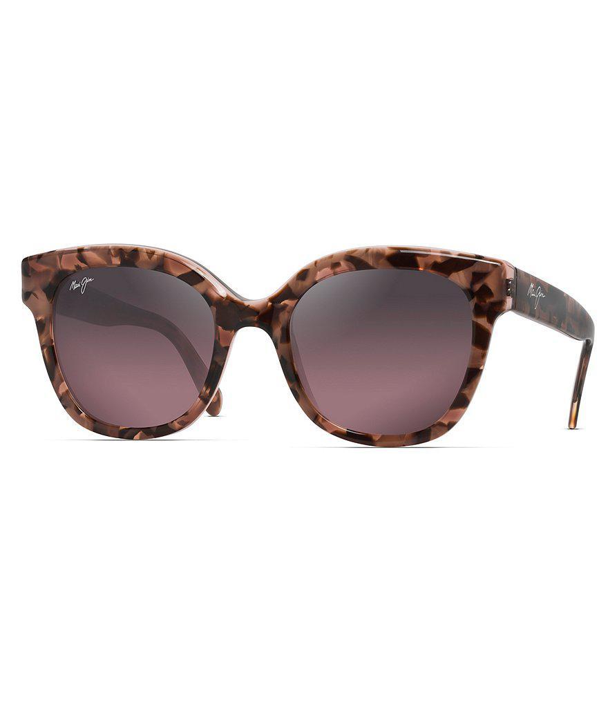 Maui Jim Honey Girl Sonnenbrille Blush Pink Blush Pink Polarisiert 51mm DnY7I