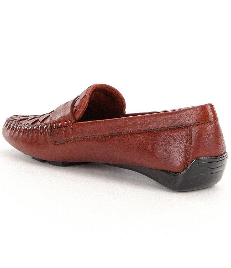 Petra Driver Slip-On Leather Moccasins LdWS8HY