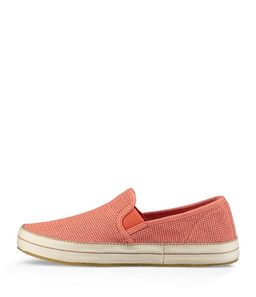 UGG® Bren Cotton Mesh Slip-On Sneakers ltKjbC5M