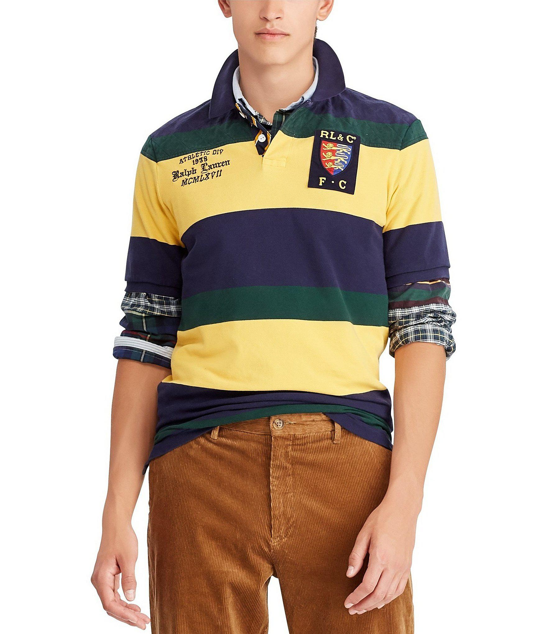 415b29ec POLO Ralph Lauren 'Vintage Crest' Mesh Classic SS Rugby Polo ...