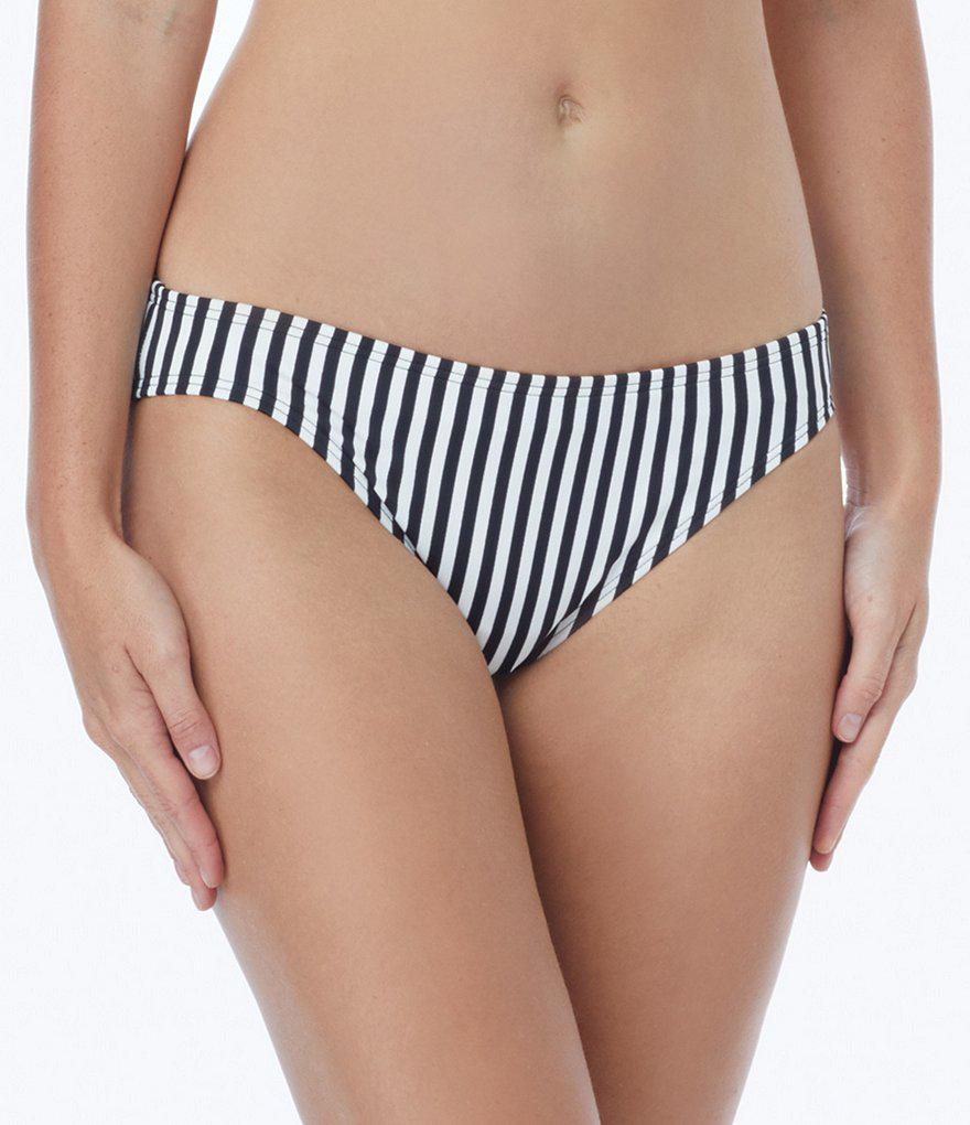 0d451903b8 Coco rave Pineapple Xpress Coastline Classic Bikini Bottom in Black ...