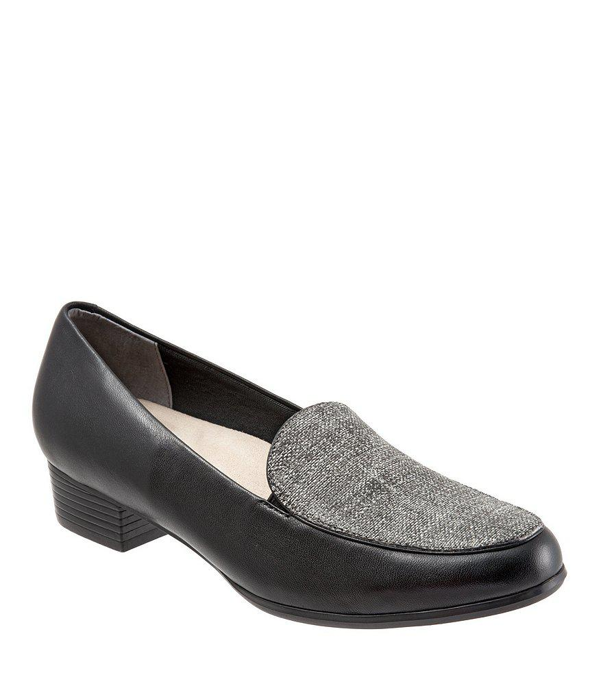 Monarch Slip-On Block Heel Loafers 6N05z