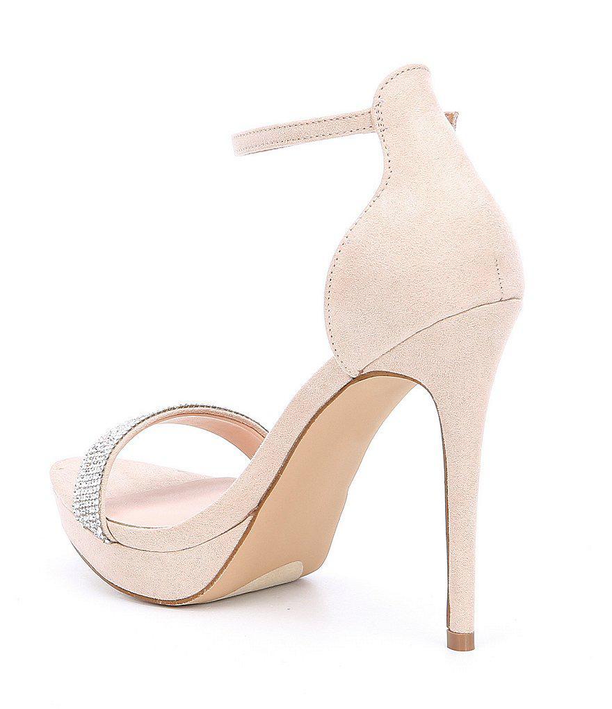 Onywen Rhinestone Jeweled Dress Sandals Fc0Fm