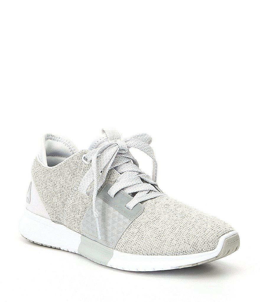 8c94bd436d2 Lyst - Reebok Women s Trilux Running Shoes in White