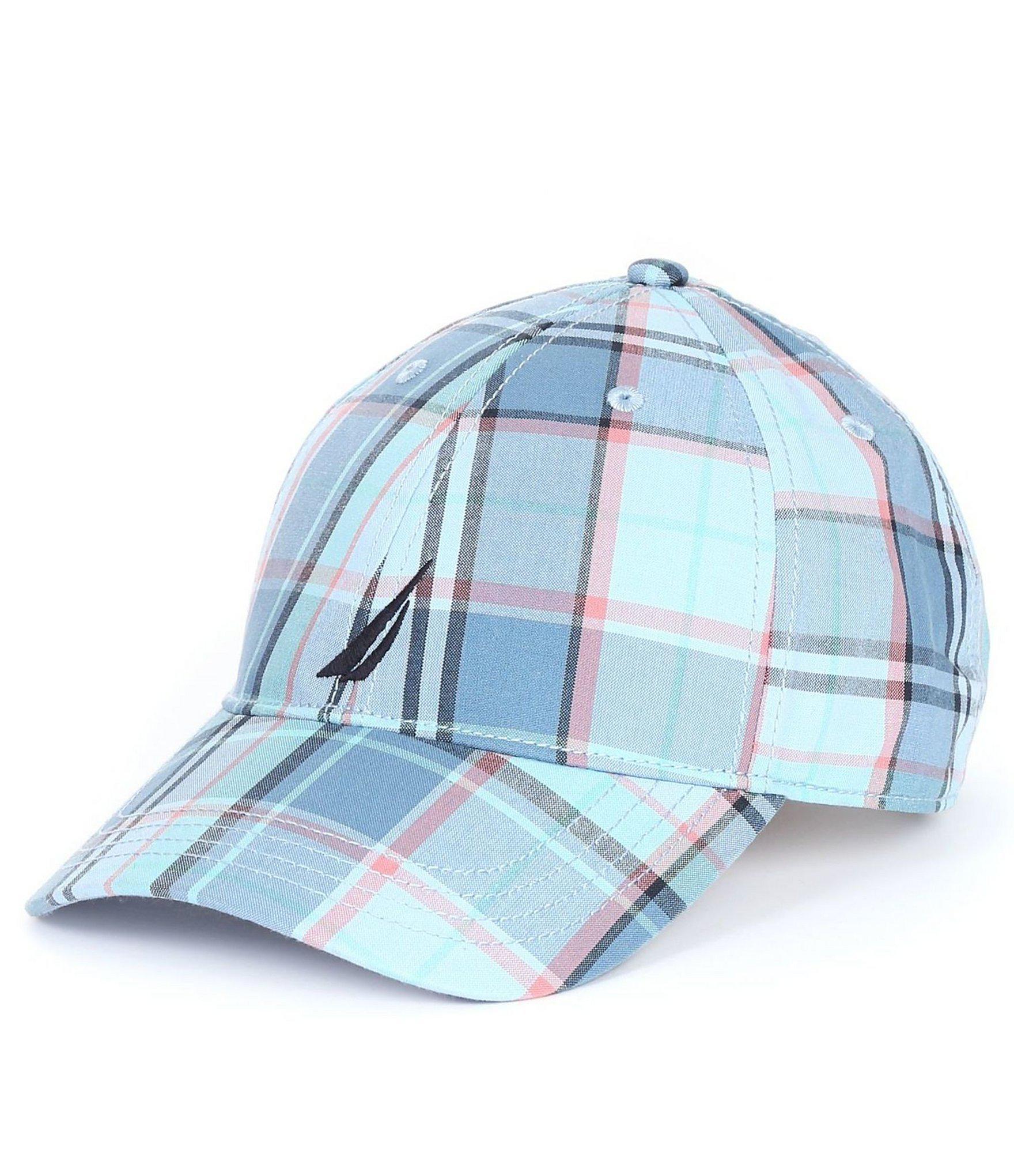 2200087e8b31bf Lyst - Nautica Plaid J Class Hat in Blue for Men