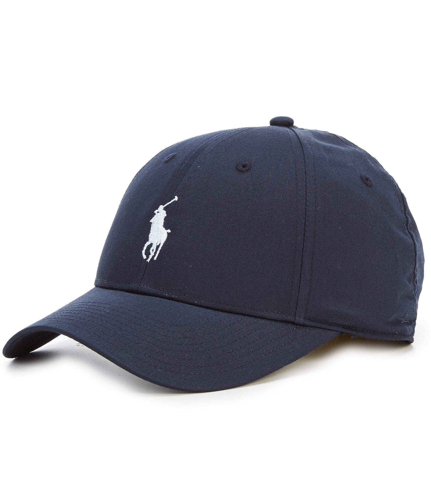 5e74a896 Polo Ralph Lauren Baseline Performance Cap in Blue for Men - Lyst