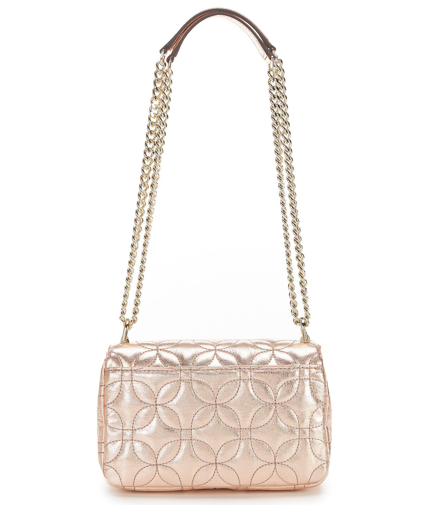 a4b215af5d8b MICHAEL Michael Kors - Multicolor Sloan Small Chain Metallic Shoulder Bag -  Lyst. View fullscreen