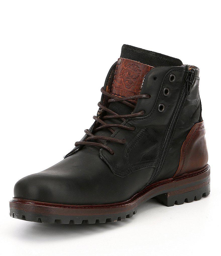 Lyst Steve Madden Men S Janis Boots In Black For Men