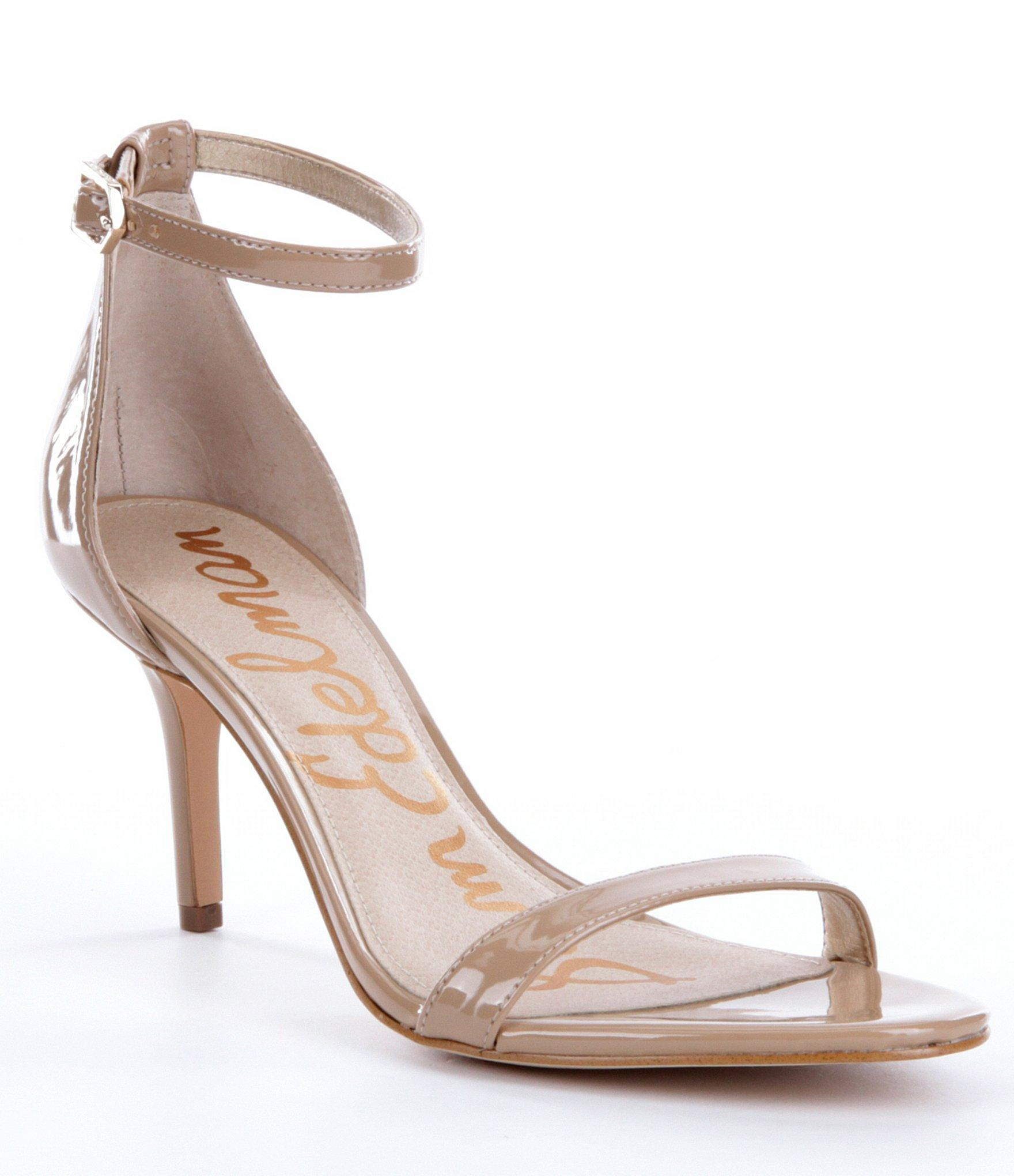 a0ab752cc Lyst - Sam Edelman Patti Ankle Strap Dress Sandals in Natural