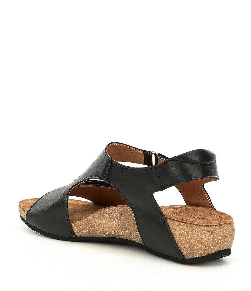 Taos Footwear Rita Wedge Sandals MQ9g45RZ
