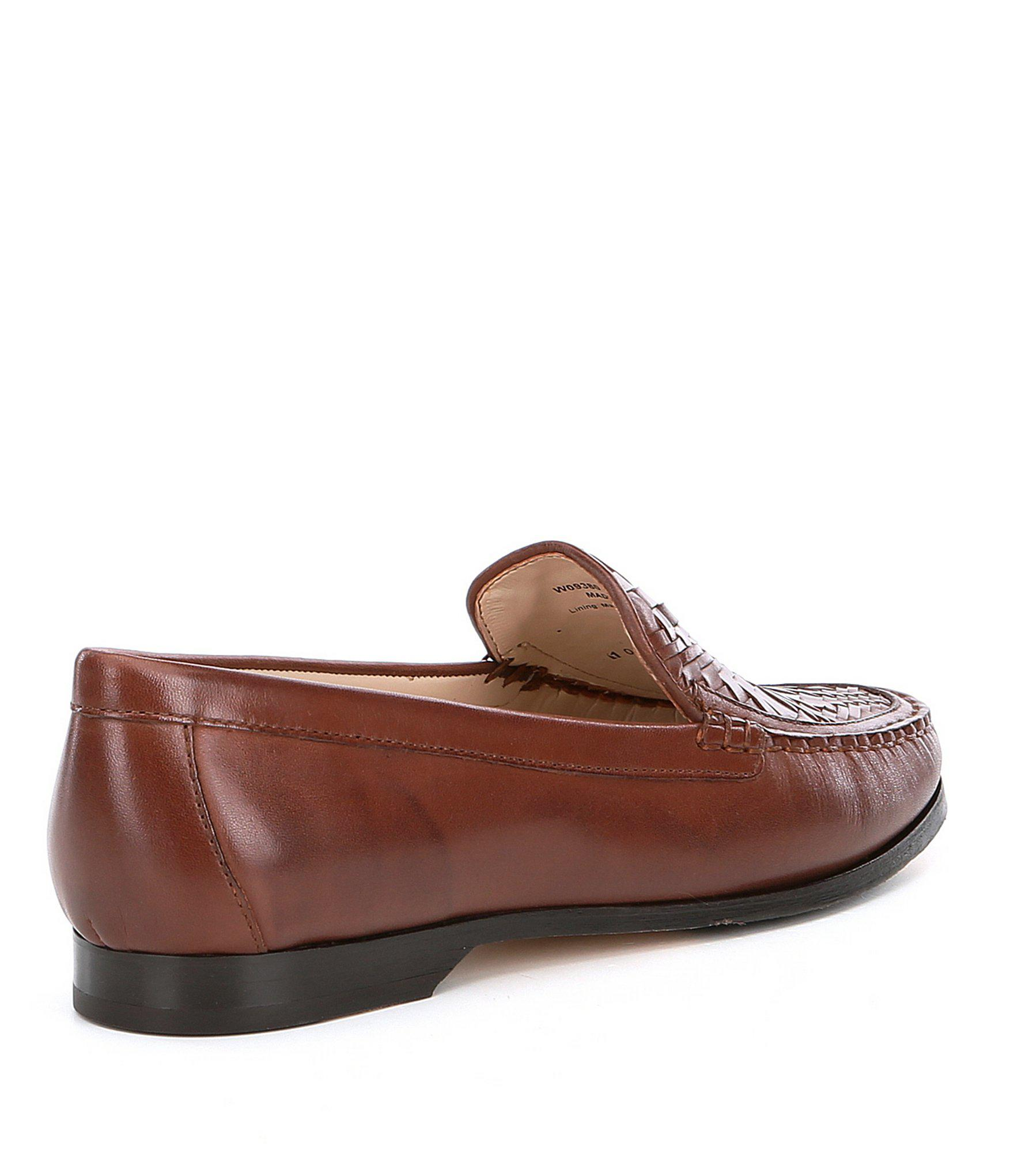 0e6abdb0958 Lyst - Cole Haan Women ́s Pinch Genevieve Weave Loafers in Brown