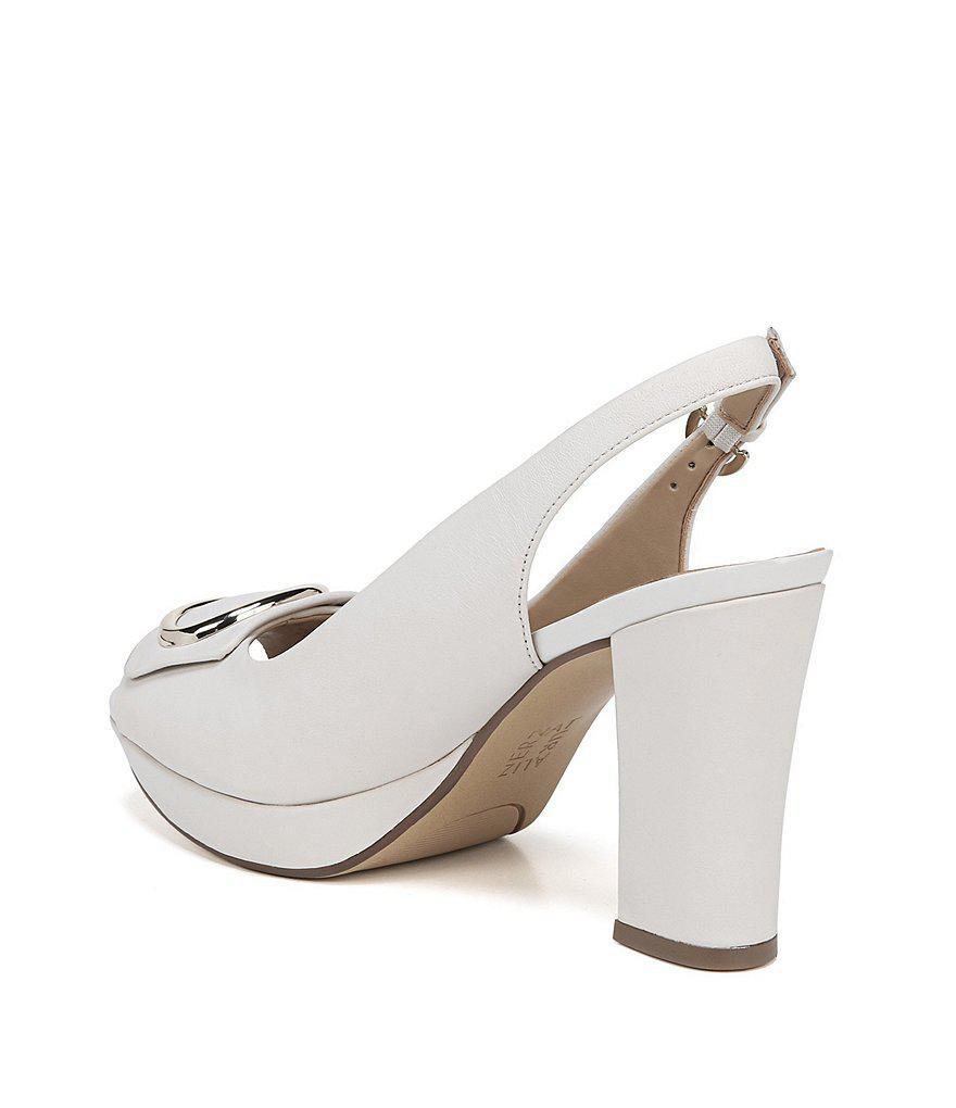 Abby Peep Toe Dress Slingback Sandals yzxP31p