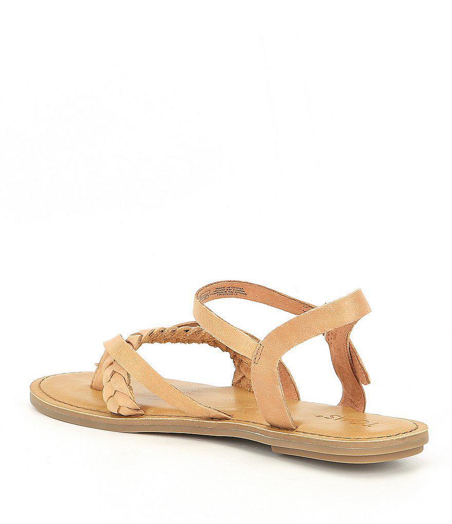 Lexie Braid Sandals nZaSXSZRm