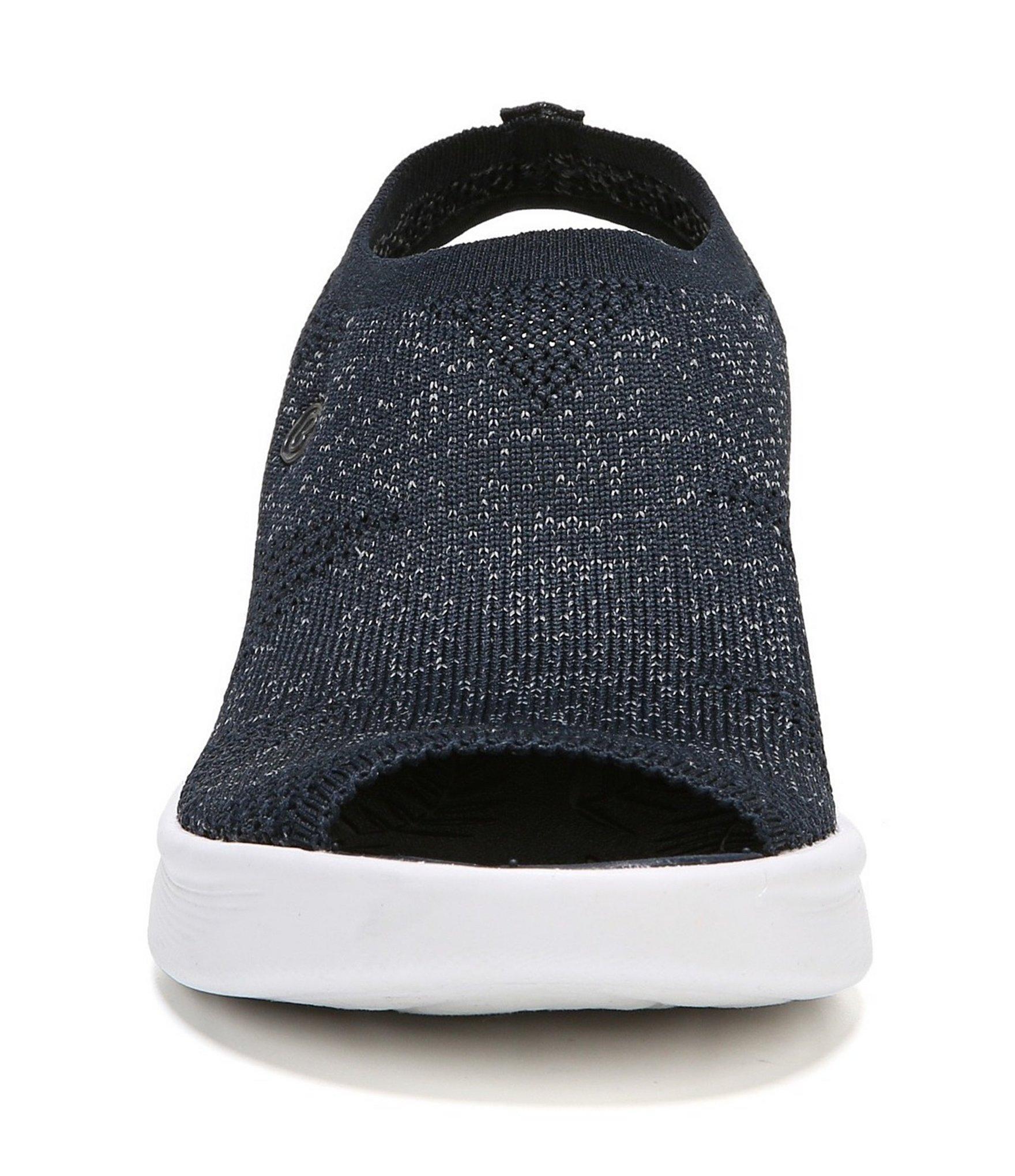 abfdc19c129a Lyst - Bzees Secret Peep-toe Fabric Sandals in Blue