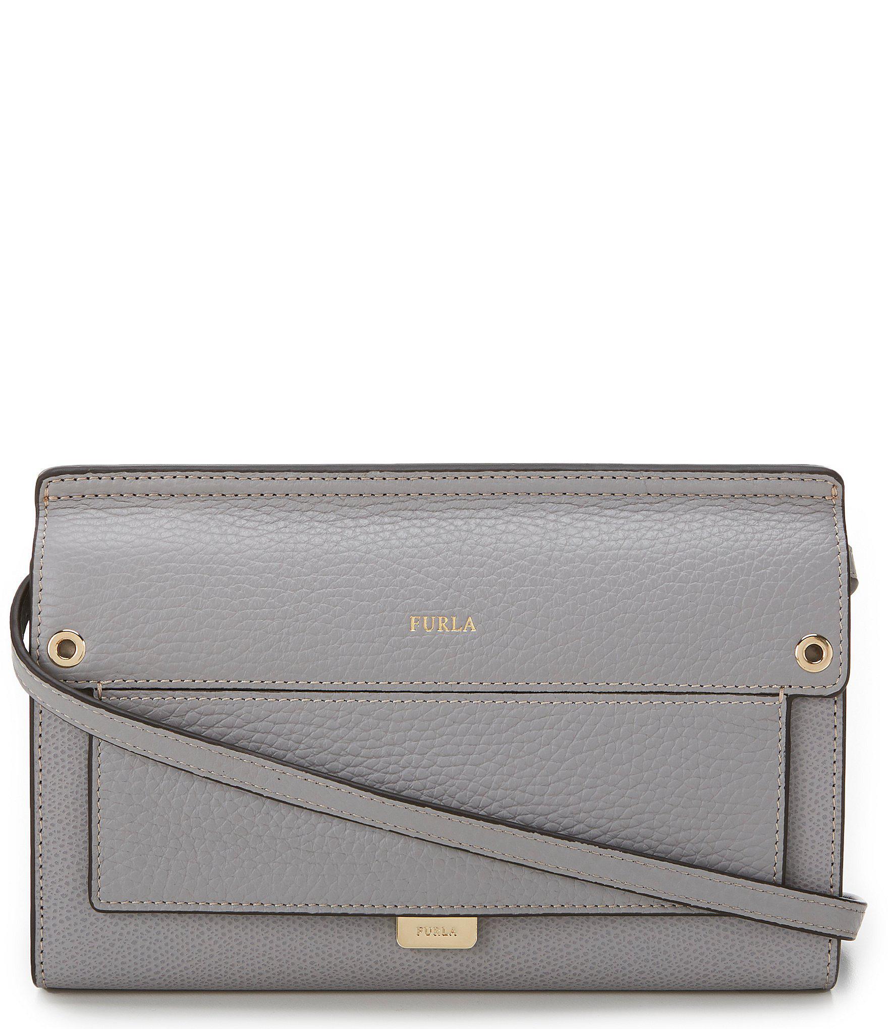a175750fd13 Furla - Gray Like Mini Cross-body Bag - Lyst. View fullscreen