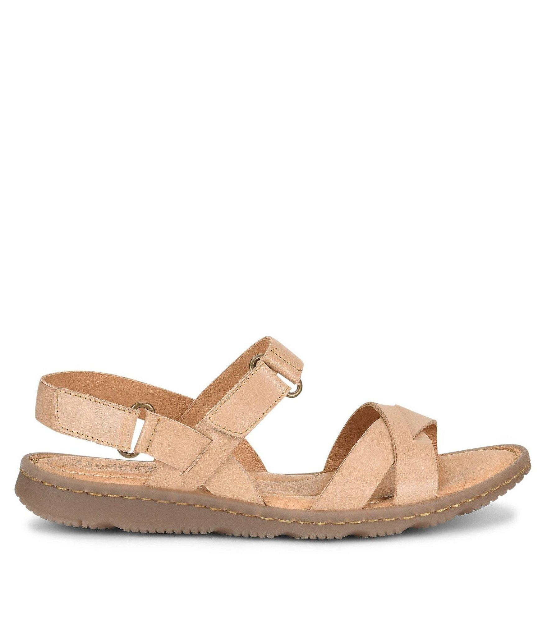 301cf80f110 Lyst - Born Jemez Leather Banded Sandals in Natural