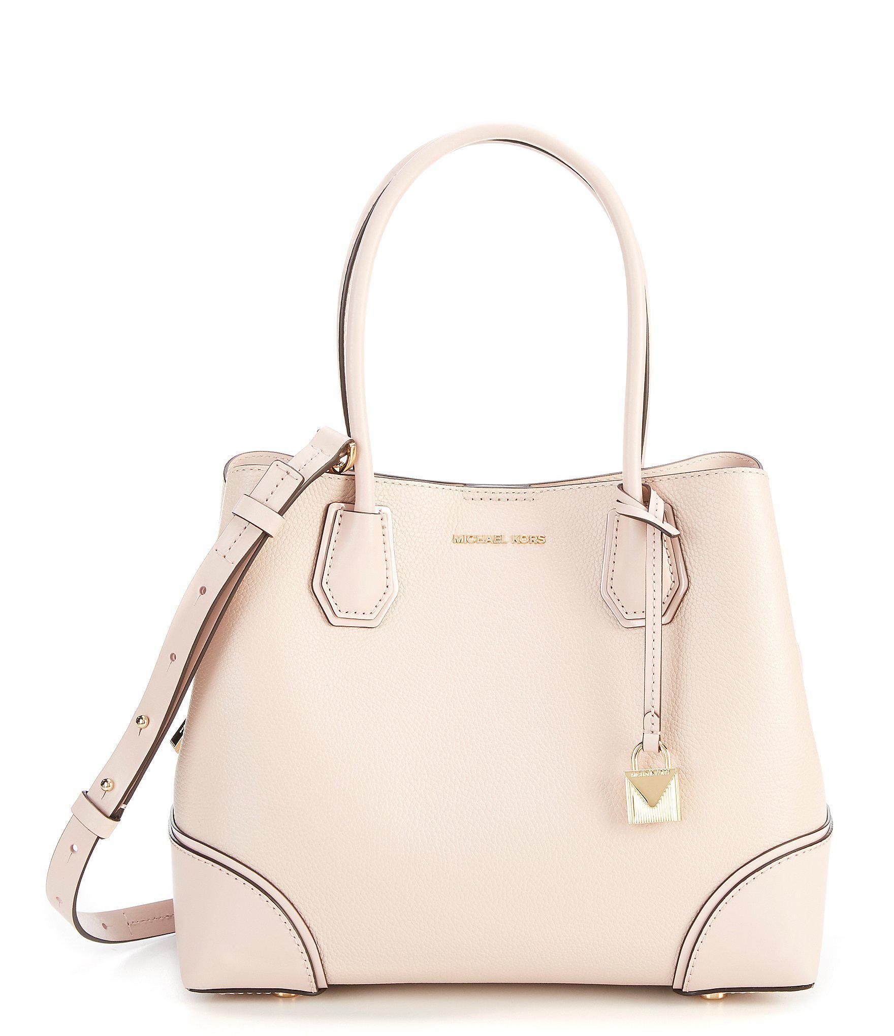 MICHAEL Michael Kors. Pink Women s Mercer Gallery Medium Center Zip Tote Bag a11ba9d52