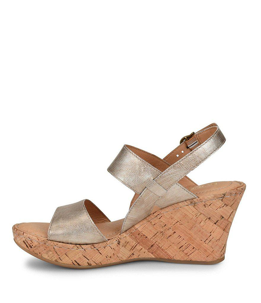 Born Cheery Wedge Sandals GgWM8b