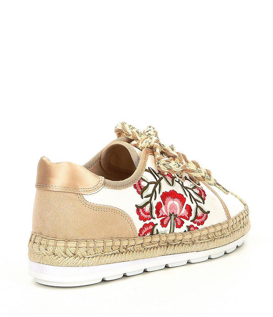 ALDO Etheisa Floral Embroidery Espadrille Sneakers TV5fPJ