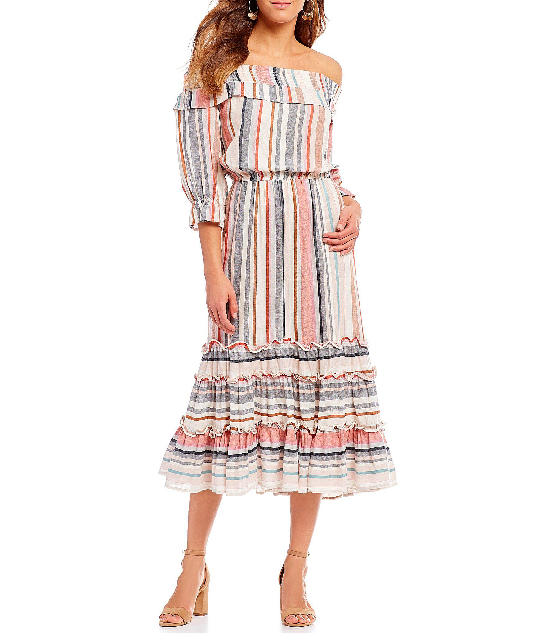 787bddb3869 Gallery. Previously sold at  Dillard s · Women s Off The Shoulder Dresses  ...