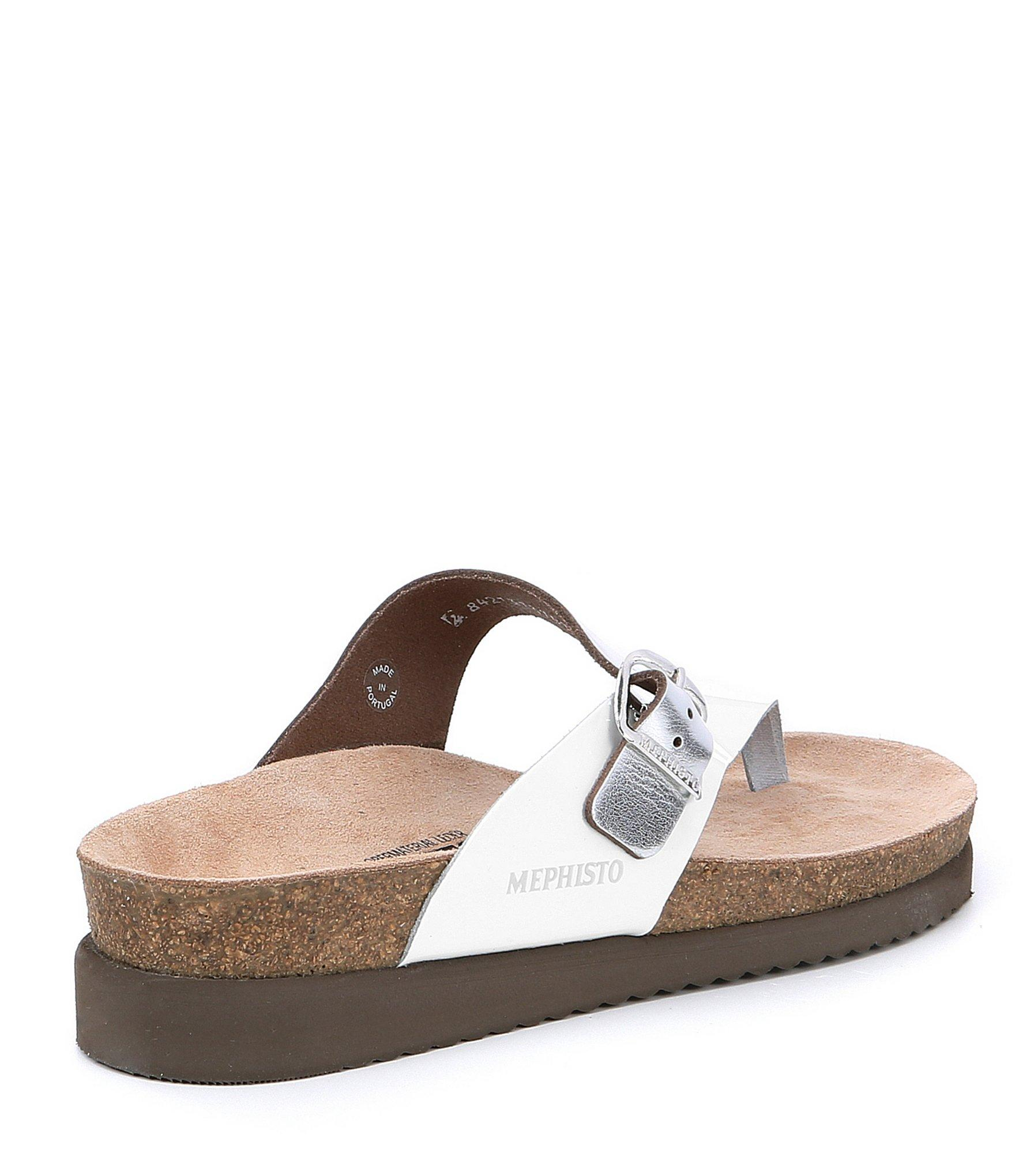 dfd9b0a8876f Mephisto - Multicolor Helen Mix Slide Thong Sandals - Lyst. View fullscreen