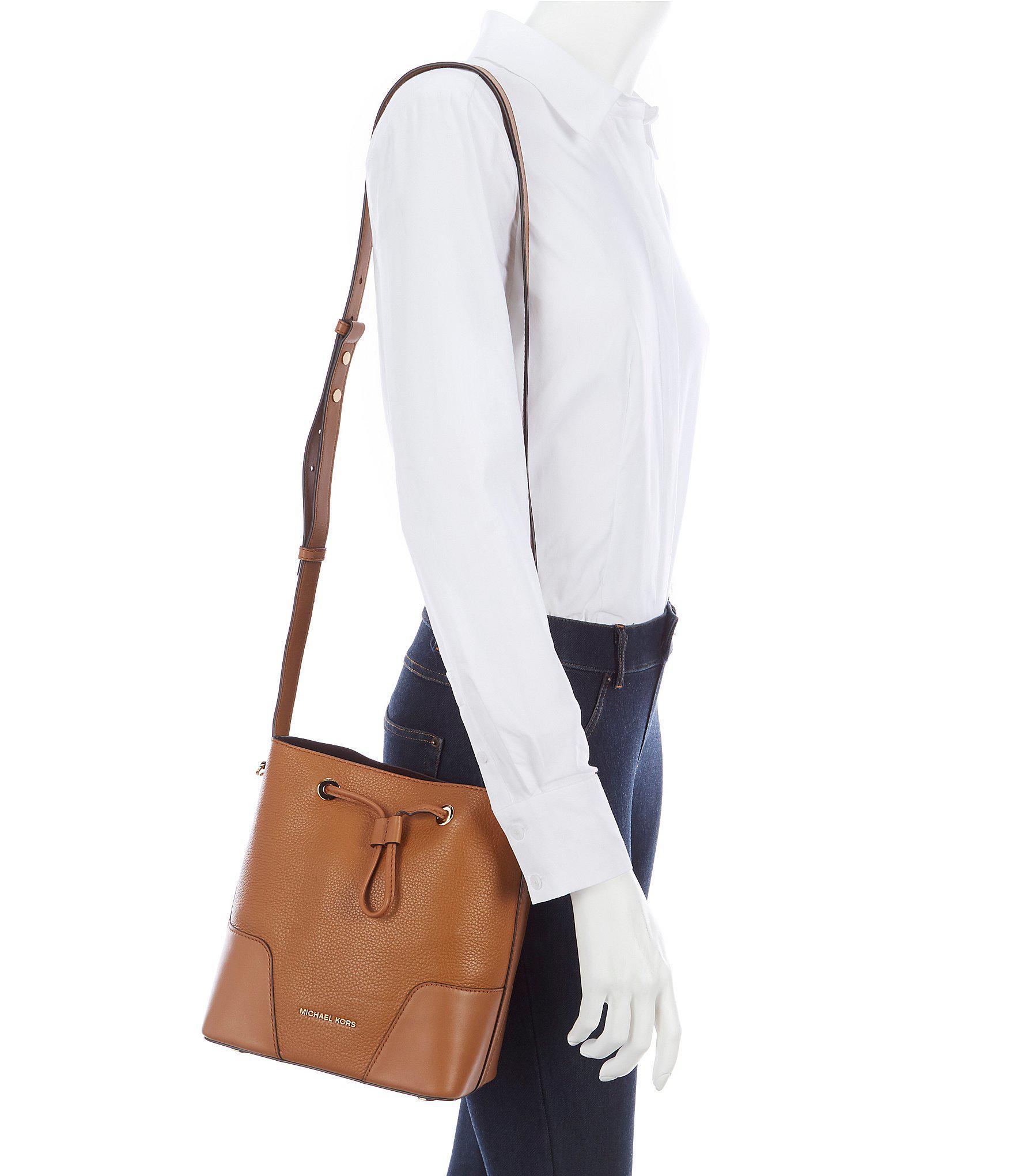 c265c2af316c MICHAEL Michael Kors Cary Small Drawstring Bucket Bag - Lyst