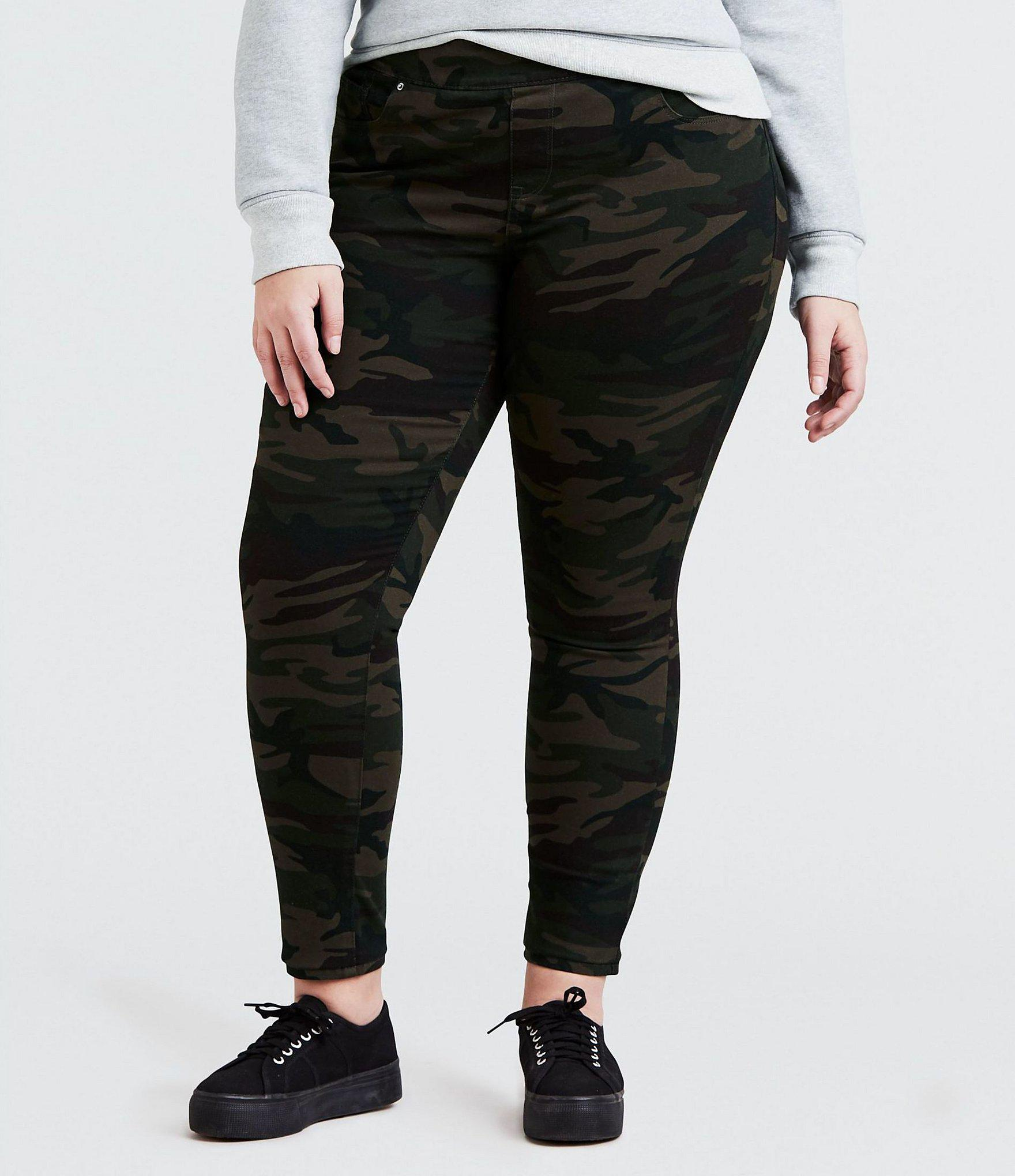 a291190ab1c Lyst - Levi S Plus Size Pull On Leggings in Black