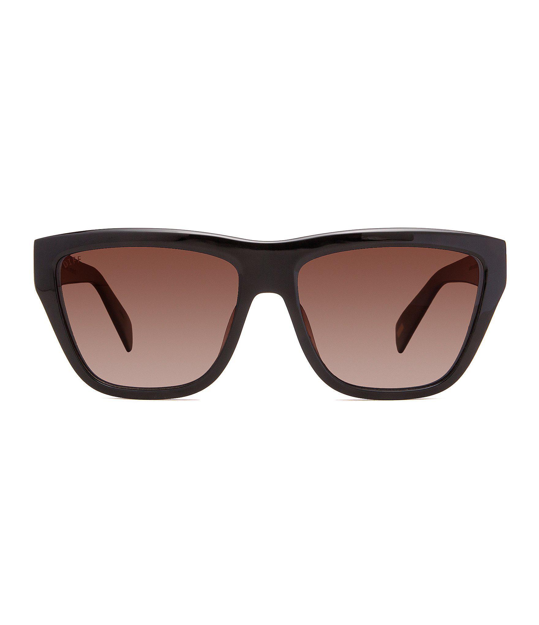 4784ad8a6b Lyst - DIFF Harper Polarized Sunglasses in Black