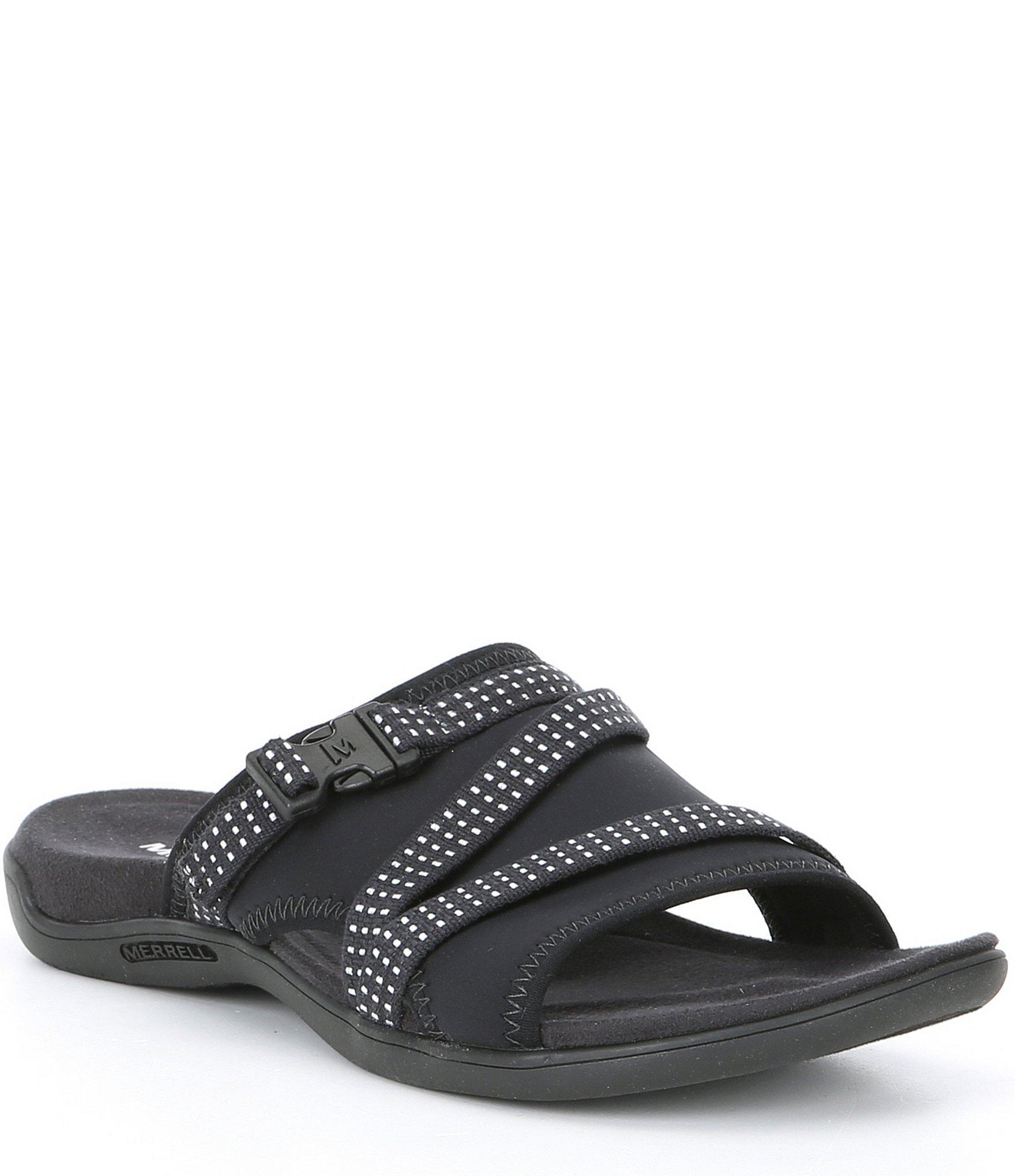 cbe4d0cc990e Lyst - Merrell District Muri Slide On Sandals in Black