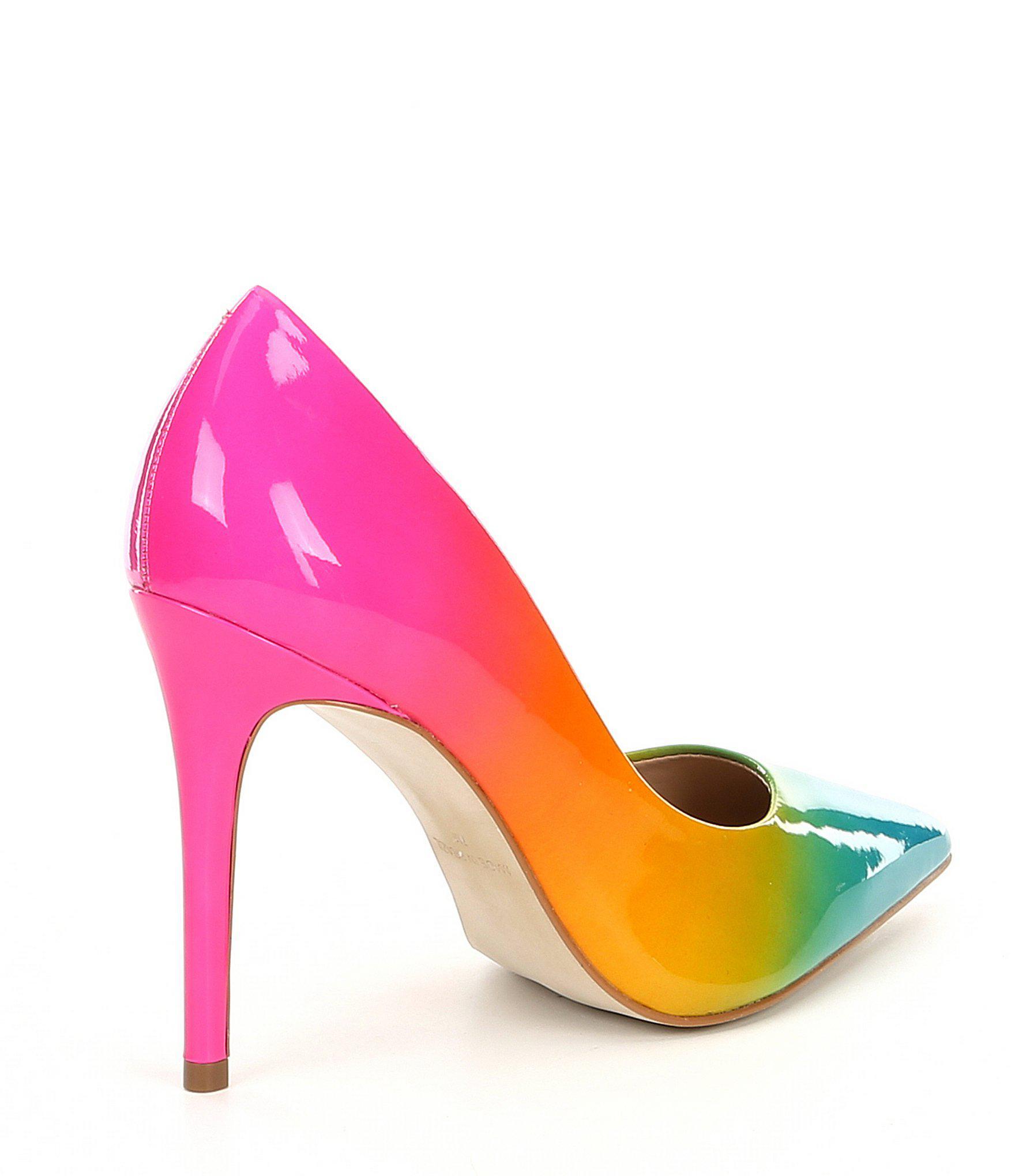 db0b6799a905 Steve Madden - Multicolor Zaney Rainbow Dress Pumps - Lyst. View fullscreen