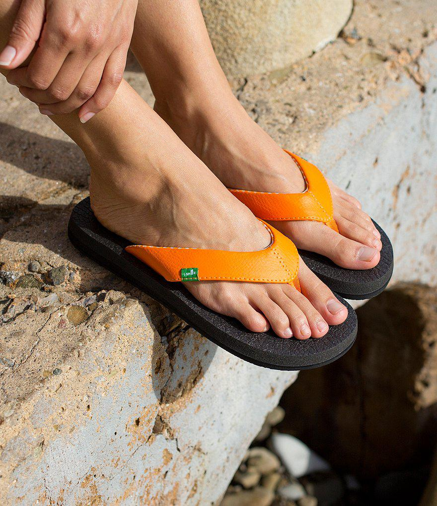 ebay blk s mat black womens flops size p picture yoga sanuk sandal flip of wedge mats